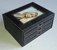Фотоальбом в виде коробки на 62 фотографии 10х15