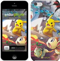"""Чехол на iPhone 5c Покемоны pokemon go v2 """"3771c-23"""""""