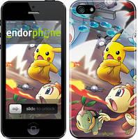 """Чехол на iPhone 5s Покемоны pokemon go v2 """"3771c-21"""""""