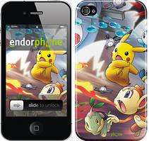"""Чехол на iPhone 4 Покемоны pokemon go v2 """"3771c-15"""""""