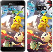 "Чехол на Samsung Galaxy A3 (2016) A310F Покемоны pokemon go v2 ""3771c-159"""