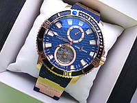 Часы Ulysse Nardin Maxi Marine Diver Tirbion