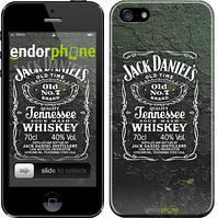 """Чехол на iPhone 5 Whiskey Jack Daniels """"822c-18"""""""
