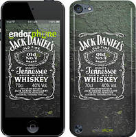 Чехол на iPod Touch 5 Серый, Whiskey Jack Daniels