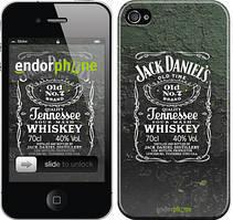 """Чехол на iPhone 4s Whiskey Jack Daniels """"822c-12"""""""