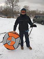 Надувные санки ватрушка тюбинг, диаметр 100 см