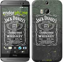 """Чехол на HTC One M8 Whiskey Jack Daniels """"822c-30"""""""