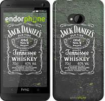 """Чехол на HTC One M7 Whiskey Jack Daniels """"822c-36"""""""
