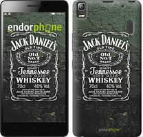 "Чехол на Lenovo A7000 Whiskey Jack Daniels ""822c-120"""