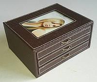 Коричневый фотоальбом / коробка