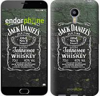 "Чехол на Meizu M2 Note Whiskey Jack Daniels ""822c-94"""