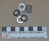 Кольцо алюминиевое d10 обратки 17х10х2