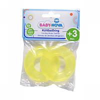 Охлаждающее зубное кольцо гладкое BABY-NOVA