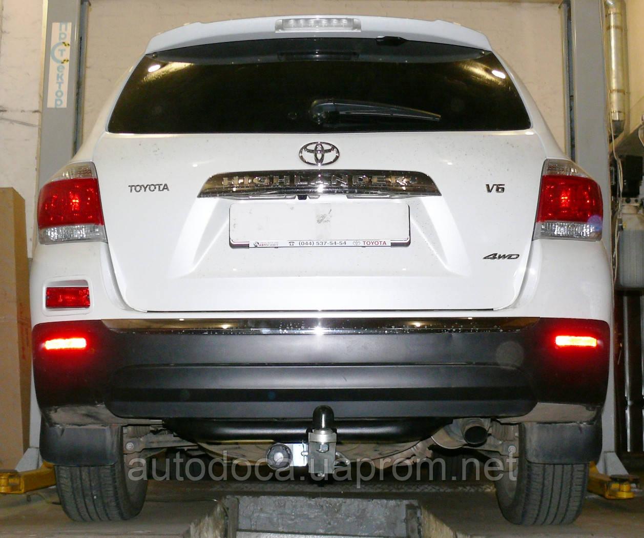 Фаркоп Toyota Highlander II 2007-