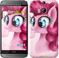 "Чехол на HTC One M8 dual sim Pinkie Pie v3 ""3549c-55"""