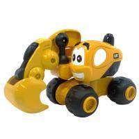 Спецтехника Toy State САТ Экскаватор Дейв 9 см (80404)