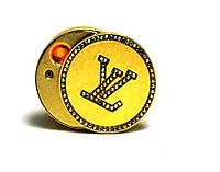 Запальничка Louis Vuitton Circle USB електроімпульсна кругла жіноча