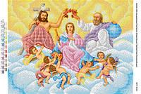 """Схема для вышивки бисером иконы """"Коронация Пресвятой Богородицы"""""""