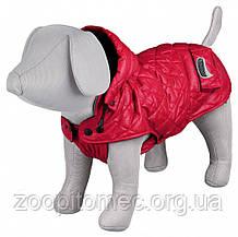 """Куртка зимова для собак""""Sila""""з капюшоном,27см,червона"""