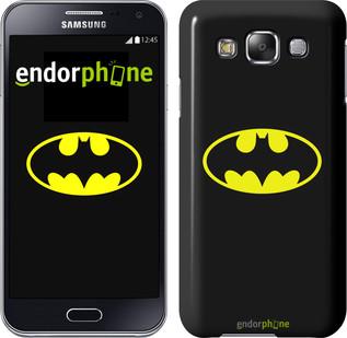 """Чехол на Samsung Galaxy E5 E500H Бетмен логотип """"3201c-82"""""""
