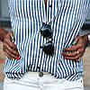Рубашка женская в полоску AL6688, фото 3