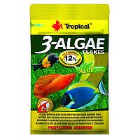 Tropical 3-Algae Flekes Натуральный корм для рыб