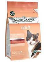 Arden Grange Adult Cat Fresh Salmon and Potato беззерновой корм для кошек с лососем 8кг