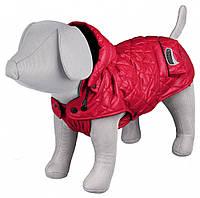 """Куртка зимняя для собак""""Sila""""с капюшоном,30см,красная"""