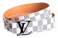 Брендовый ремень под джинсы louis Vuitton
