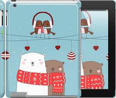 """Чехол на iPad 2/3/4 Мишки и птички """"3375c-25"""""""