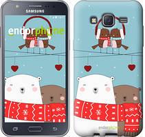 "Чехол на Samsung Galaxy J5 J500H Мишки и птички ""3375c-100"""