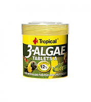 Tropical 3-Algae Tablets A  Корм для рыб из водорослей