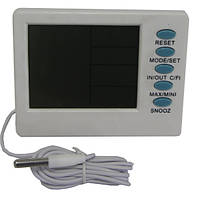 Цифровой термометр, гигрометр с часами Т-04