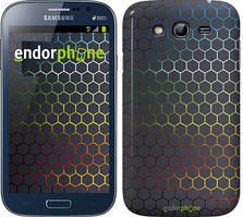 "Чехол на Samsung Galaxy Grand Neo I9060 Переливающиеся соты ""498c-112"""