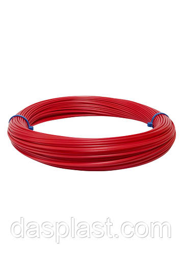 АБС пластик красный 1,75 мм для 3д ручки, 100 грамм, 41 м.