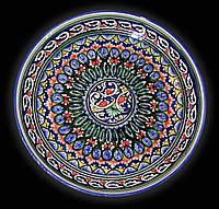 Ляган. Узбекская керамика.d 32 см.