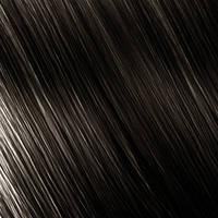 Nouvelle Lively Hair Color Перманентная крем-краска для волос без аммиака 100 мл. 4.7-Эбеновое дерево