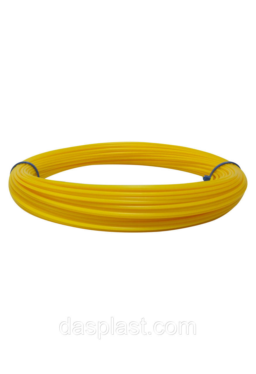 АБС пластик желтый 1,75 мм для 3д ручки, 100 грамм, 41 м.