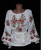 Женская вышиванка крестиком, фото 1