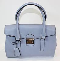 Женская сумка David Jones голубого цвета