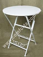 32759 Стол свадебный круглый раскладной, высота ~ 75 см, диаметр ~ 61 см, кованое изделие
