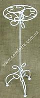 32161 Подставка для цветочных композиций, высота ~ 60 см, диаметр (блюдца) ~ 18 см, свадебная стойка