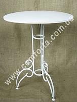 32760 Стол свадебный круглый разборной, высота ~ 80 см, диаметр ~ 61 см, кованое изделие