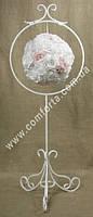 33274 Кольцо одинарное, металлическая стойка для декоративных подвесов и шаров