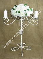 33995 Канделябр разборной с подставкой для флористических композиций, высота ~ 65 см, ширина ~ 56 см