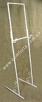 34073 Подставка металлическая разборная для карты рассадки гостей, ширина ~ 44 см, высота ~ от 1,2 м до 1,6 м