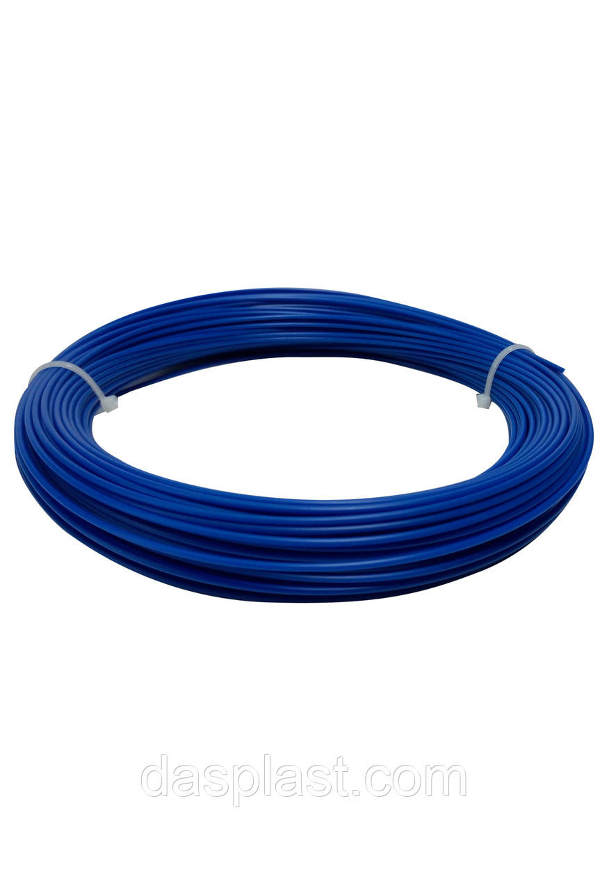 АБС пластик синий 1,75 мм для 3д ручки, 100 грамм, 41 м.