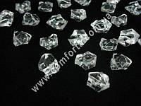 33339 Искусственный лед, декоративные кристаллы акриловые средние, 300 гр
