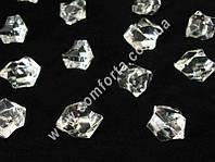 33379 Искусственный лед, декоративные кристаллы акриловые крупные, 500 гр