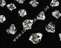33379-01 Искусственный лед, декоративные кристаллы акриловые крупные с отверстием, 500 гр